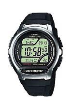 Reloj para hombre WV-58E -1 AVEF CASIO Negro Correa de resina Wave Ceptor BNWT