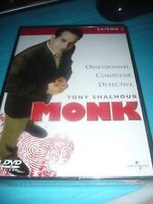 MONK Saison 1 DVD PAL RARE BOX NEW!!! Tony Shalhoub SEALED!!