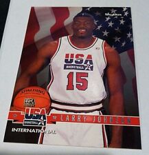 LARRY JOHNSON 1994 Skybox USA International PROMO No# Back SSP Scarce!! EBAY 1/1