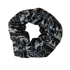 New Black/White Mixed Pattern Light Weiget X-Lgrge Infinity Scarf Loop Cowl