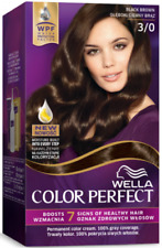 Wella Color PERFECT Permanent Color CREAM 3/0 Black Brown 100% Grey Coverage
