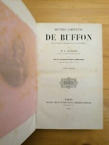 Oeuvres completes de Buffon. 5 voll. 1856