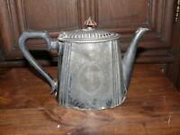 Rarität über 100 Jahre alte Teekanne Kanne Silber oder versilbert reich verziert
