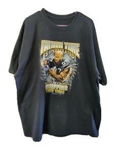 James Harrison Pittsburgh Steelers cartoon father T Shirt XL black cotton