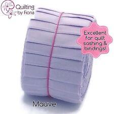 "20 x 2.5"" Mauve Purple Jelly Roll PreCut Fabric Strips, 2.5 inchx WOF, Die Cut"