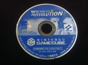 WTA TOUR TENNIS PRO EVOLUTION Nintendo Gamecube GCN NTSC J Japan  **DISC ONLY**