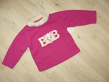 Pullover Fleece Kiki & Koko Gr.92 pink Puppen Künstlerpuppen