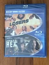 The Losers / Jonah Hex (Blu-ray) BRAND NEW / FACTORY SEALED