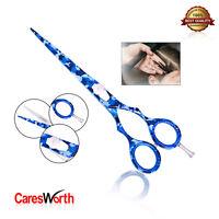 Blue Hairdressing Barber Scissor Razor Sharp Japanese Salon Hair Cutting Shears