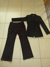 Mexx 2 tlg. Set Jacke Blazer mit Hose Anzug Konfirmation Gr.S 34 schwarz