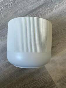 IKEA RIBBED VASE VERY GOOD CONDITION