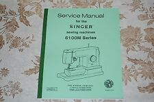 Service Manual on CD for Singer 6101 6102 6103 6104 6105 6106 Sewing Machines
