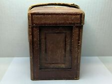 Antique, Repeater Carriage Clock Case, Leather