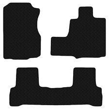 Honda CRV 2006 - 2012 Auto/Manual Black Floor Rubber Tailored Car Mats 3mm Set
