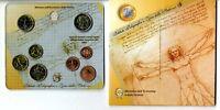 Set Cartera Italia 2007  monedas euros Oficiales euro coin