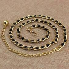 Imitation Pearl Beads Waist Body Chain Belt Women Waistband Strap