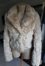 ***LIPSY SIZE 10 GORGEOUS FULLY LINED SHORT FAUX FUR COAT***