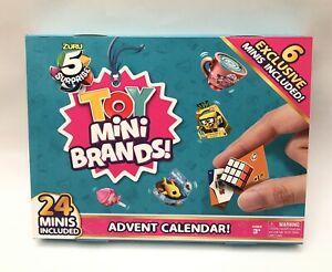 Zuru 5 Surprise Mini Brands TOY - 24 Surprise Pack Christmas Advent Calendar