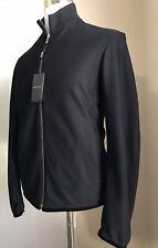 New $1595 Giorgio Armani Men Jacket Coat Black 42 US ( 52 Eu ) Italy