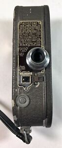 Vintage 1930's Keystone 8mm Model K-8 Movie Camera with Case - Non Working