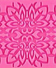 Floral Lace Design 4 sections Silicone Mold NEW