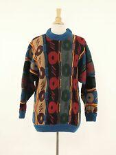 1980s COOGI Vintage Wool Textured Pullover Sweater Womens XL