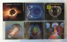 Lot 6 Journey CD Collection Eclipse/Frontiers/Arrival/Escape/Evolution/Hits Live