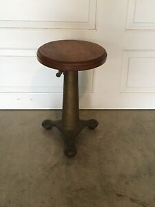 Vintage Singer Stool In Great Condition