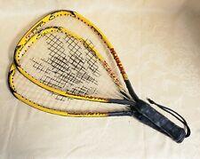 Ektelon Powerfan Nitro 900 Power Level Racquetball Racquet Lot Of 2