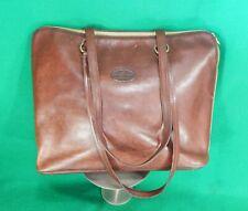 TANGAROA Venezia TERRIDA Brown Leather laptop / travel / shoulder bag
