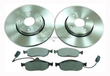 FORD MONDEO MK2 ST24 2.5 V6 1995-2000 FRONT 2 BRAKE DISCS AND PADS SET