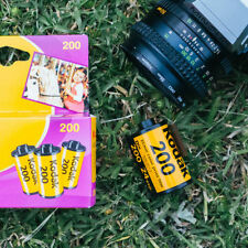 24 Exposures 200 ISO Camera Films