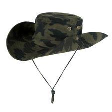 Cappello Boonie da esterno Cappello da safari per pesca caccia pesca con X5O8
