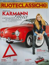 Ruoteclassiche n°250 2009 Fiat 128 Familiare 1971 Volkswagen Karmann Ghia [P50]