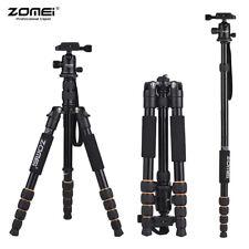 ZOMEI Tripod Travel Monopod Aluminum w/Ball Head For DSLR Camera Camcorder Q666