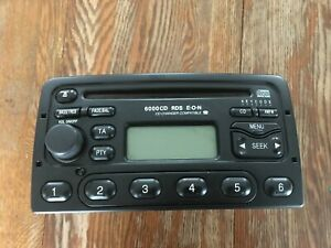 Ford 6000CD Car Radio and Stereo Player with manual and keycode