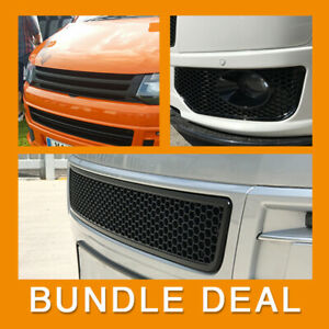 for VW T5.1 Transporter Van Front Styling Matte Package (3pcs) Painted and Ready