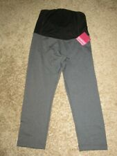 Womens Be Maternity by Ingrid & Isabel Be Active Capri Pant Crop Crossover panel