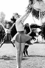 Jane Fonda In Sexy Cheer Leader Outfit With Pom Pom Tall Story 11x17 Mini Poster