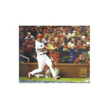 So Taguchi signed St. Louis Cardinals 16x20 Photo (2006 WS Champs) Eng/Japanese