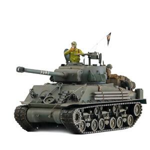 HOOBEN 1/16 US FURY Medium Tank M4A3E8 HVSS Sherman Easy E8 Master Handmade RTR