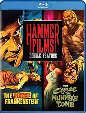The Revenge of Frankenstein / The Curse of the Mummy's Tomb Blu-ray brand new