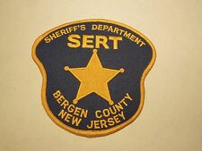 Vintage Bergen County Police Sheriff's Department NJ Embroidered Iron On Patch