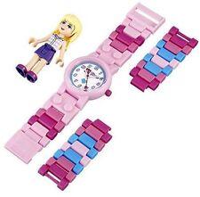 NEW LEGO Kids' 9001031 LEGO Friends Stephanie Plastic Watch with Link Bracelet a