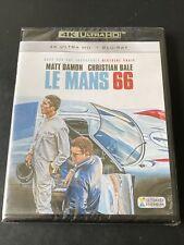 LE MANS 66 4K ULTRA HD + BLURAY MATT DAMON CHRISTIAN BALE FRANCE NEUF