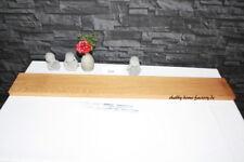 Gestockte Eiche Wandboard #100 Tablarträger Massivholz Regalbrett Bord Steckbord