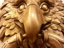 Brass Door Handle EAGLE Figurine Knocker BIRD Vintage Pull Hand Home Decor
