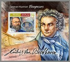 MALEDIVEN 2019 ** Komponisten Bruch Beethoven Composers #02-806b B