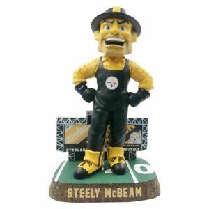 Steely McBeam Mascot Pittsburgh Steelers Scoreboard Bobblehead Brand New In Box