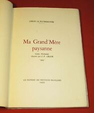 The povremoyne (jehan). ma grand 'peasant mother. illustrated tales normans...
